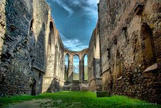 Ruins of Church Rosa coeli Prague, Bohemia Travel, Central Europe, Czech Republic, Trip Planning, Barcelona Cathedral, The Good Place, Places To Visit, Castle