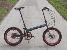 The Monkey Lab: Monkey Ride: Bike Friday with Belt Drive and Rohloff SPEEDHUB 500/14