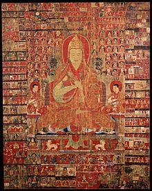 Tsongkapa, 15th-century painting, Rubin Museum of Art