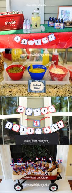 Party Printable Collections: Let's Party: Client Parties: Throw a Baseball Birthday Party » Tammy Mitchell Photography