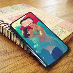 The Little Mermaid Ariel Eric Mermaid Anime Samsung Galaxy S7 Case