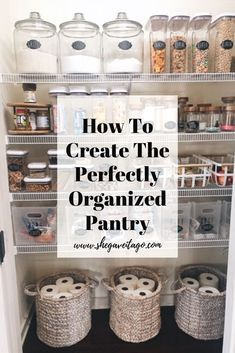 "Our pantry went from chaotic and not functioning well for our family to one that is clutter free, pretty, and perfectly functional. This transformation has now ignited my desire to tackle other ""eye sores"" and poorly organized spaces down the road because of the difference it makes in our day-to-day life. I am going to take you step-by-step on how to do this in your own home! #kiychenorganize #kitchendesign"