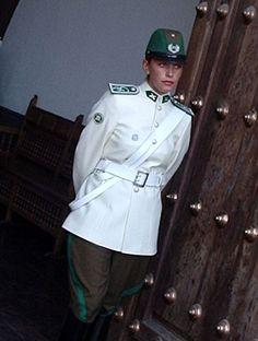 Guardia de palacio - Carabineros de Chile - Chili