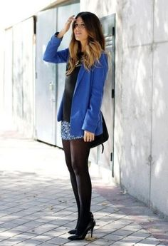 Azul y negro SI!