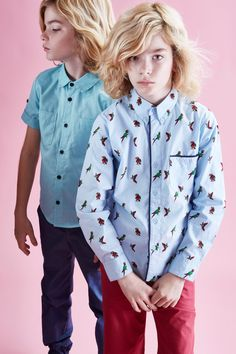 Parrot print shirt by How to Kiss a Frog at Shan and Toad for summer 2016