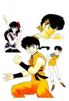 Rumiko Takahashi, Ranma 1-2, Ranma Saotome, Akane Tendo, Ukyo Kuonji
