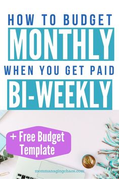 Want to know how to budget monthly when you are getting paid bi weekly?Want to know how to budget monthly when you are getting paid bi weekly? Read on for more on how to set up your budget, how to get organized, and make . Plan Budgétaire, How To Plan, Budgeting Finances, Budgeting Tips, Monthly Expenses, Making A Budget, Making Ideas, Faire Son Budget, Budget Sheets