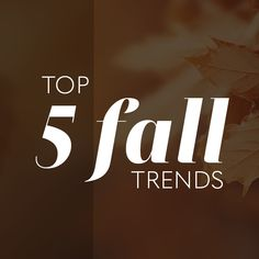 With a new season comes new trends. It's natural to feel the shift in the season and get the itch to change your look. If you're looking for a bit of inspiration to do so, you've come to the right spot. Find out what 5 fall trends we're loving. Fall Trends, New Trends, Crimping Iron, How To Tie Ribbon, Crimped Hair, Soft Waves, Great Lengths, Zig Zag Pattern, Fall Hair