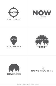 Branding Logo Design Concepts Adventure Explorer                                                                                                                                                                                 More