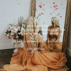 Afrikaans Quotes, Girls Dresses, Flower Girl Dresses, Van, Wedding Dresses, Flowers, Women, Dresses Of Girls, Bride Dresses