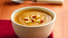 Slow-Cooker Curried Squash Soup: Getting your daily dose of veggies has never been tastier with this superstar soup.