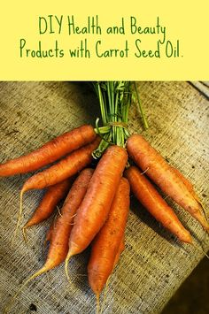 Three great carrot seed oil recipes so you can make your own sunscreen and topical germ-fighting cream. Some aromatherapists also consider carrot seed oil a good all-purpose health tonic. I love this versatile, yet uncommon, oil. Benefits Of Coconut Oil, Coconut Oil For Skin, Oil Benefits, Organic Coconut Oil, Carrot Seed Essential Oil, Carrot Seed Oil, Carrot Seeds, Essential Oils, Homemade Facial Moisturizer