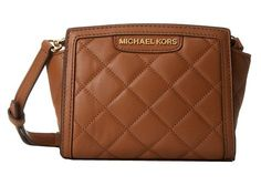 Michael Kors Selma Quilt Mini Messenger Walnut * You can find out more details at the link of the image. (This is an affiliate link) #MichaelKorsHandbags