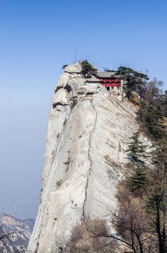 The Lonely Temple, Hua Shan, Shaanxi Province, China