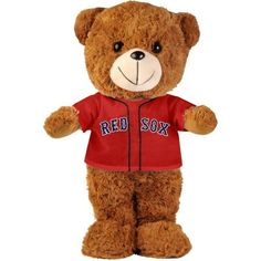 MLB Boston Red Sox Fuzzy Bear, Brown