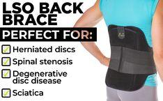 Herniated, Degenerative & Bulging Disc Medical Back Brace for Spinal Pain Treatment Braces Pain, Disk Herniation, Spondylolisthesis, Spinal Nerve, Degenerative Disc Disease, Spinal Stenosis, Back Pain Relief, Sciatica, At Least