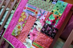 Quilt from Cheerful and Colorful Nursey on Baby Lifestyles
