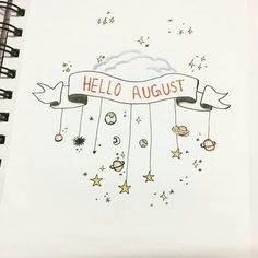 The Bullet Journal Monthly Spread is a necessity for staying organized. I've compiled 40 bullet journal monthly layouts to keep you inspired for years! Bullet Journal August, Bullet Journal Planner, Bullet Journal Monthly Spread, Bullet Journal Cover Page, Bullet Journal Themes, Journal Covers, Bullet Journal Inspiration, Bullet Journal Headings, Bullet Journal Months