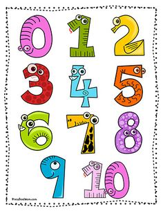 This page is filled with resources to help you teach your children numbers. You'll find printable charts, games, minibooks, activities, crafts and more. Learning about numbers can be fun whe… Preschool Charts, Classroom Charts, Free Preschool, Preschool Printables, Preschool Worksheets, Preschool Classroom, Kindergarten, Free Printable Numbers, Printable Shapes