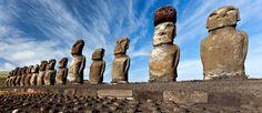 Les mystères de l'histoire - Les statues de l'île de Pâques