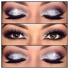 Gorgeous! New Years Eye Make Up