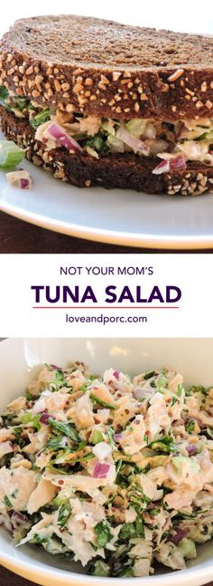 Not Your Mom's Tuna Salad - Love & Porc
