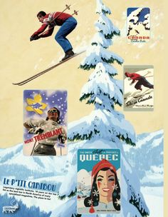 It's March Break! Party at L'Petit Caribou! Canada Snow, Cinema, March, Retro, Film, Movie Posters, Movies, Movie, Cinematography