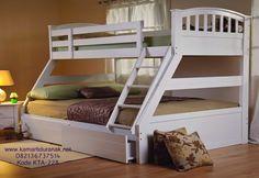 Harga Ranjang Susun Minimalis Kayu Jati Murah | Tempat Tidur Susun Terbaru - Kamar Tidur Anak