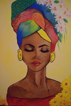 Best 11 African woman on canvas – SkillOfKing. Art Painting, Art Drawings, Amazing Art Painting, Art Painting Acrylic, Art, Mosaic Art, African Art Paintings, Canvas Painting, Africa Art