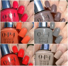 OPI Infinite Shine #newcollection #summer #nudes  #nailart - bellashoot.com