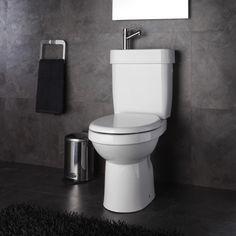 Pack WC & lave-mains avec sortie horizontale sur Planete Bain
