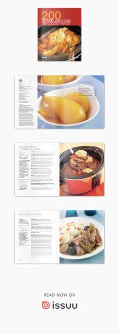 200 deliciosas recetas para ollas eléctricas de cocción lenta que le ayudarán a preparar sus platos sin necesidad de pasar tiempo en la cocina. Con esta colección cocinar puede ser fácil y divertido. Recetas sencillas de entender, para el uso cotidiano, con ingredientes fáciles de encontrar, procedimientos muy asequibles y adecuada para cualquier cocinero, sea cual sea su nivel. Platos variados para mimar el paladar, preparar alimentos saludables, sabrosos, con estilo y para cualquier oca...