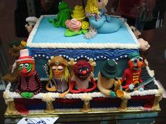 The Muppets , stars of the television series The Muppet Show, as well as numerous big screen movies, often get the short end of the stick w. Pretty Cakes, Cute Cakes, Beautiful Cakes, Amazing Cakes, Crazy Cakes, Fancy Cakes, Cake Wrecks, Die Muppets, The Muppet Show