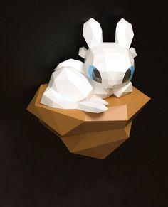 Light Fury Papercraft Light Fury Toothless and Light Fury Toy Art, Dragon Crafts, Dragon Art, Paper Crafts Origami, Diy Paper, Craft Stick Crafts, Fun Crafts, Toothless Toy, Paper Models