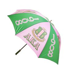 Alpha Kappa Alpha 30'' Jumbo Umbrella
