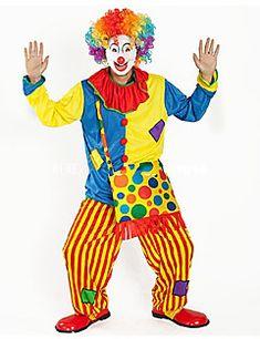 Burlesque/Klaun Cirkus Cosplay Nošnje Kostim za party Odrasli Karneval Festival / Praznik Halloween kostime Duga Color block