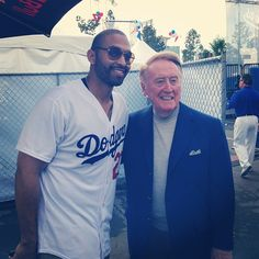 Vin Scully and Matt Kemp