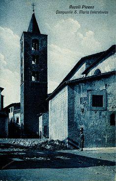 Ascoli com'era: chiesa di Santa Maria Intervineas (<1932)