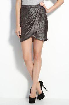 Celebrity clothing lines: Twenty8Twelve foil strip tulip skirt, Norstrom
