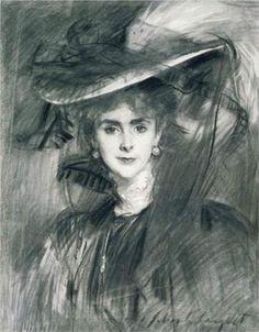 Olga, Baroness de Meyer - John Singer Sargent, 1907