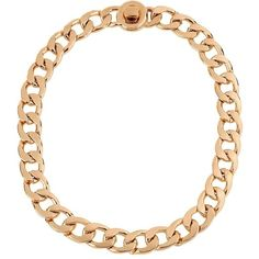 Kenneth Cole New York Modern Essentials Circle Link Necklace ($48) ❤ liked on Polyvore featuring jewelry, necklaces, rose gold, pink gold jewelry, red gold jewelry, kenneth cole necklace, rose gold jewelry and kenneth cole