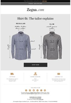 Fitting shirts: the tailor explains l Zegna.com Newsletter