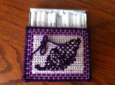Free Crochet Pattern For Cigarette Case : 1000+ images about plastic canvas on Pinterest Plastic ...