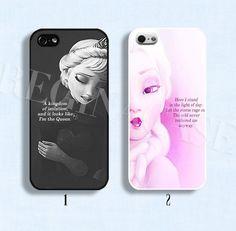 Disney frozen phone case Disney frozen Elsa phone by ReginaCase