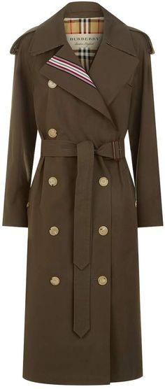 4584cb20416b Burberry Collegiate Stripe Trench Coat