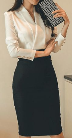 25 Amazing Professional Look for Super Women - corporate attire women Office Outfits Women, Casual Work Outfits, Work Attire, Classy Outfits, Outfit Work, Office Look Women, Work Suits For Women, Fashionable Outfits, Casual Attire