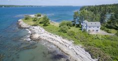 Overlooking the islands of Muscongus Bay at the entrance to the St. George River, this property offers a private 1.6± acre peninsula with 1,170± feet of varied shorefront.   The energy efficient 2,000 square foot home was built in 2006 and is sited to provide beautiful water...
