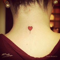 """Marque quem você ama de verdade!  Tatuagem feita por <a href=""""http://instagram.com/dani.bianco_tattoo"""">@dani.bianco_tattoo</a>                 Conheça nossos perfis no pinterest e no we heart it com fotos inéditas :)"""