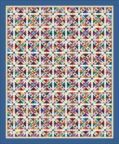 Wild & Goosey | Quiltmaker May/June '13 | Quiltmaker showing block & layout