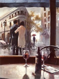 Brent Heighton, 1954 ~ Romantic Evening | Tutt'Art@ | Pittura * Scultura * Poesia * Musica |